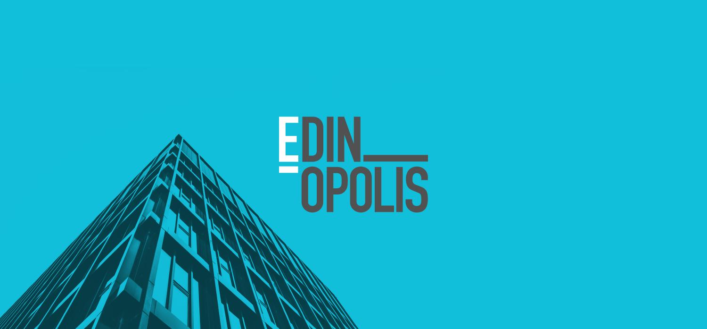 Scyscraper and Edinopolis logo
